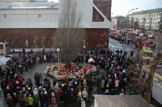 ВКемерове решают, как увековечить память жертв пожара в«Зимней вишне»