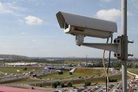 Установка видеонаблюдения в школе.