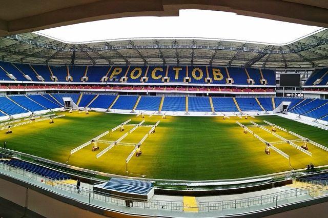 Уже 15 апреля на новой арене состоится первый матч между «Ростовом» и «СКА-Хабаровск».