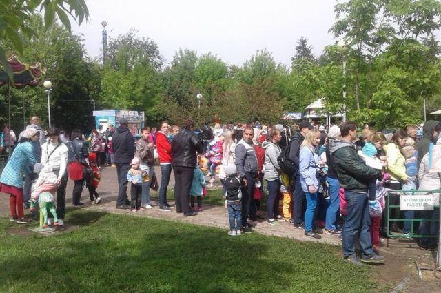 Аренда Центрального парка вКрасноярске велась снарушениями— генпрокуратура