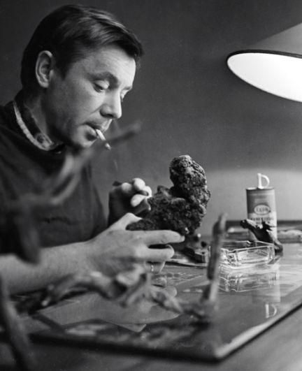 Артист Олег Анофриев. 1964 год.