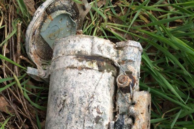 НаСтаврополье ОМОН обезвредил найденный гранатомет