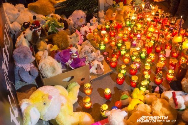 Красноярцы предлагают отнести игрушки на кладбище.