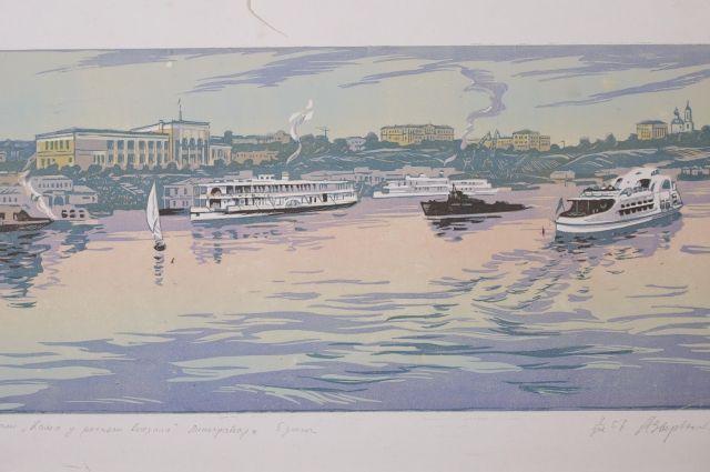 В художественной галерее проходит выставка Александра Зырянова.