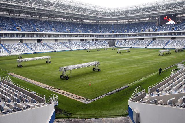 На первый тестовый матч на «Стадионе Калининград» проданы все билеты.