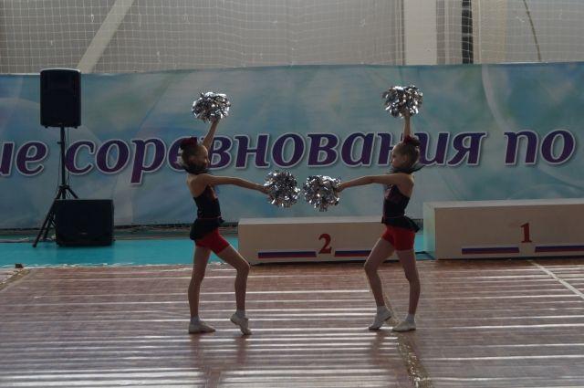 В ДС «Заречье» стартуют соревнования по чир спорту ««Кубок Горького».