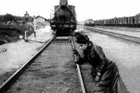 Кадр из фильма режиссера Владимира Гардина, 1914 год.