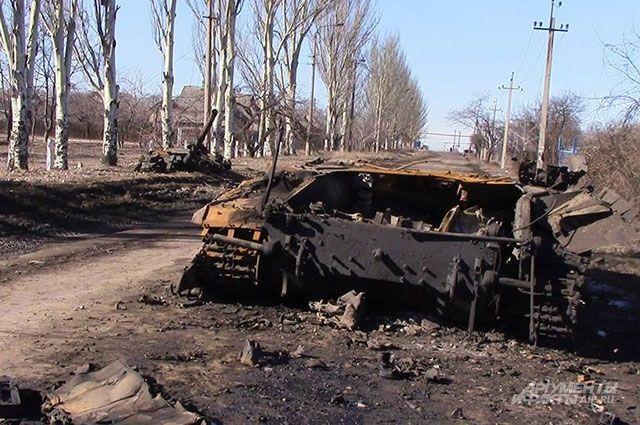 ВКиеве сообщили обатаке ополченцев слазерным оружием