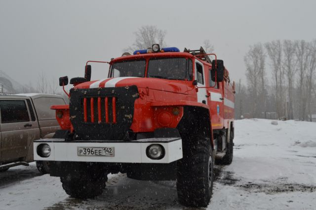 В Адамовском районе в пути следования загорелся «ВАЗ».