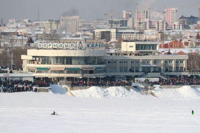 Речной вокзал в Барнауле