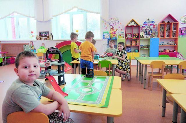 Детский сад откроется в 2020 году.