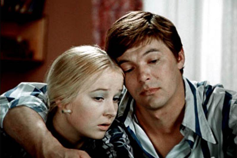 В роли Григория Ганжи в телефильме Алексея Коренева «Большая перемена». 1973 год.