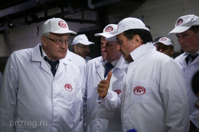 Деловая встреча состоялась на Пензенском мясоперерабатывающем комбинате.