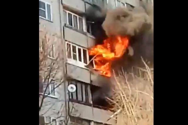 ВСаратове напожаре умер 5-летний ребенок