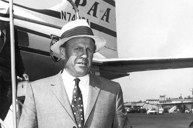 Оскар Шиндлер в 1957 г.
