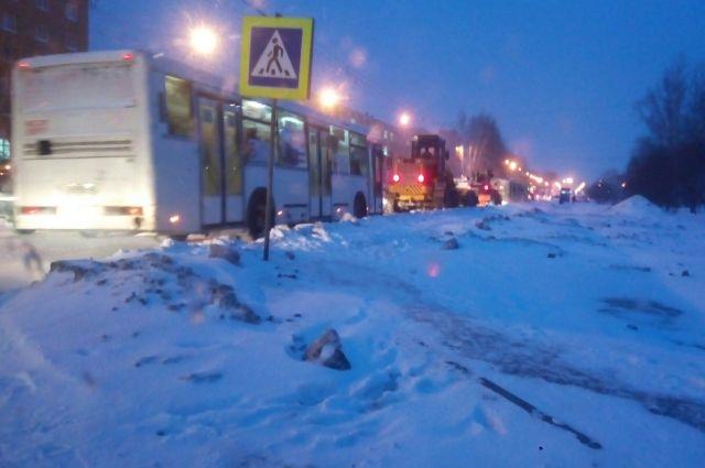 ДТП вНовосибирске: столкнулись два пассажирских автобуса