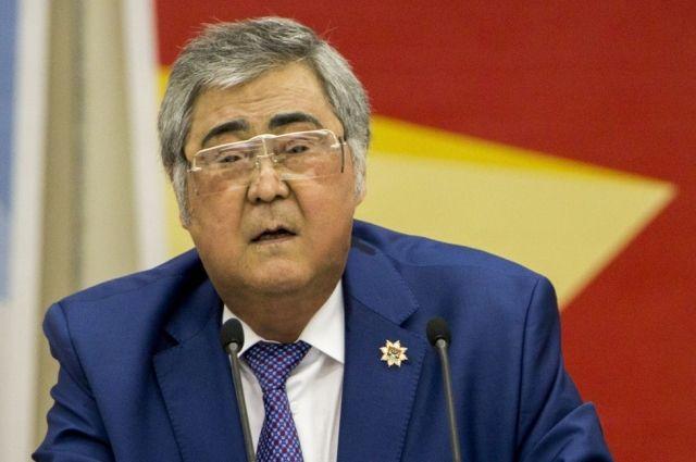 Губернатор Кемеровской Аман Тулеев области подал в отставку.