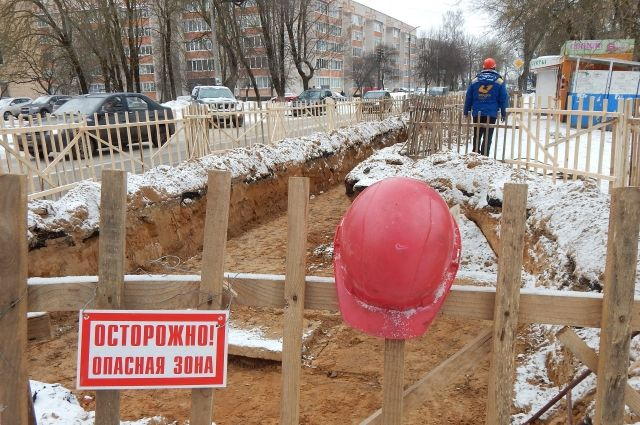 Начетырех дорогах индустриального района Смоленска отключат горячую воду