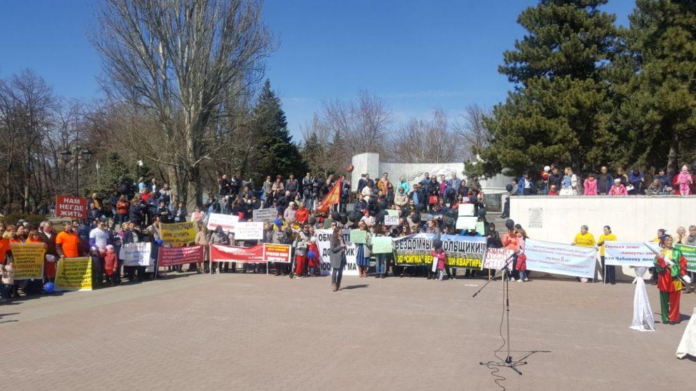 Подобный формат протестного мероприятия используется в России впервые.
