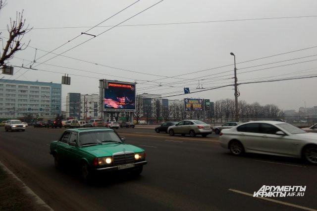 На Эстакадном мосту в Калининграде на месяц перекрывают две полосы.