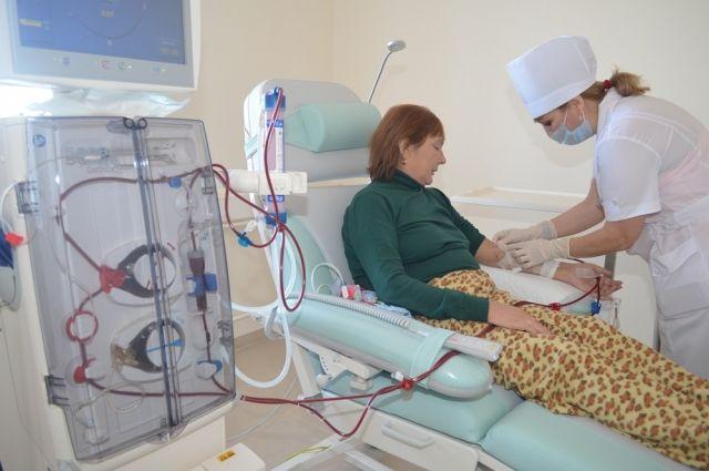 В Медногорске новый диализный центр принял первых пациентов.
