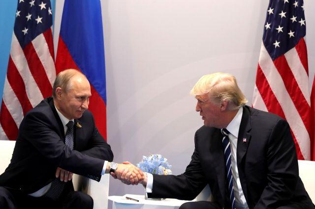 Трамп предложил Путину провести встречу в Вашингтоне