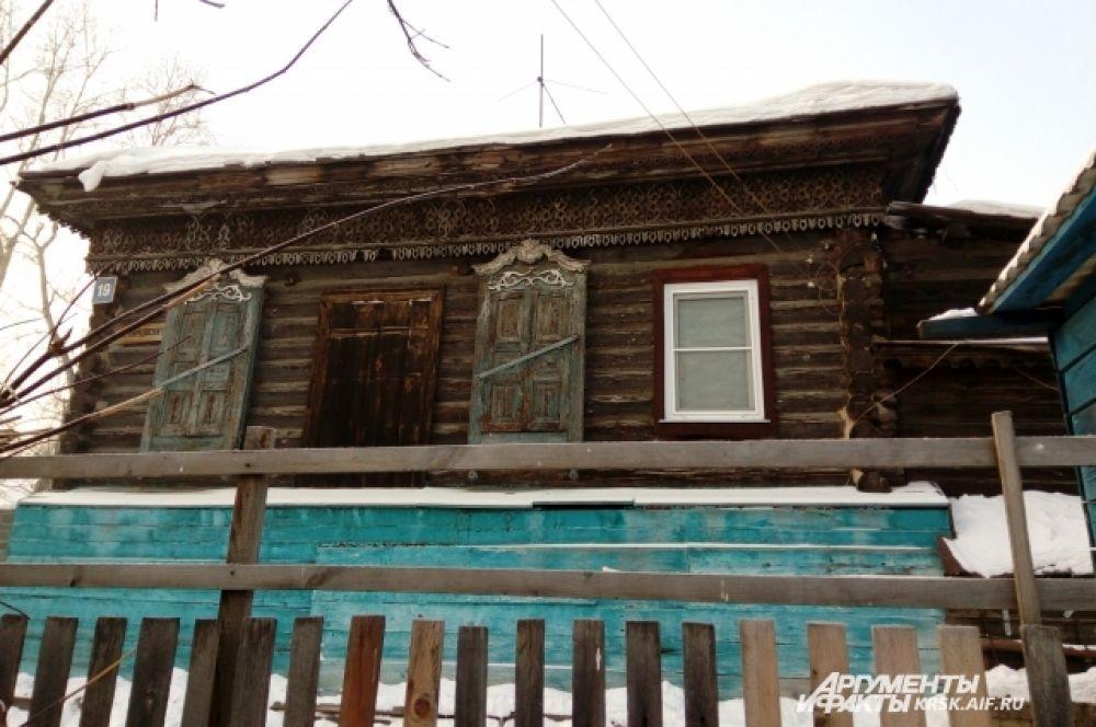 Старые дома в Николаевке.