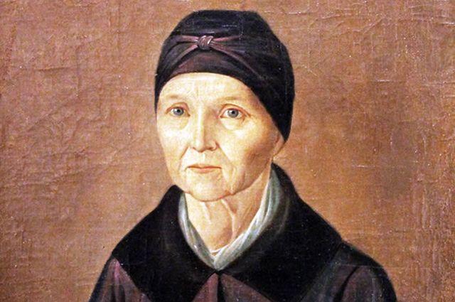 Арина Родионовна. Портрет неизвестного художника.