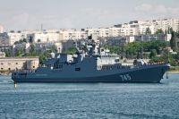 Сторожевой корабль «Адмирал Григорович» Черноморского флота РФ.