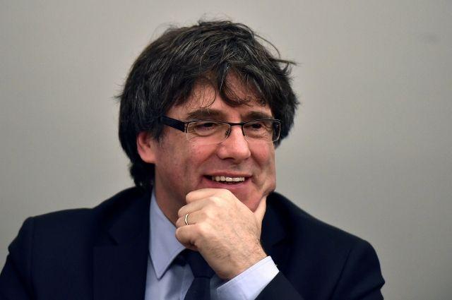 ВГермании генпрокуратура попросила суд выдать Испании прежнего руководителя Каталонии