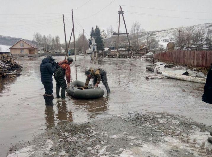 Паводок в Краснощековском районе.