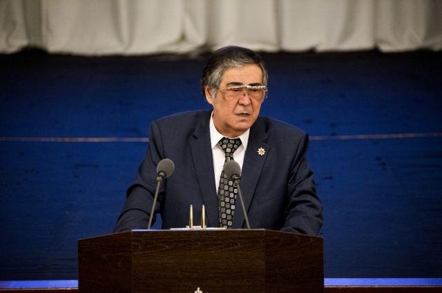 Аман Тулеев стал депутатом парламента Кемеровской области.