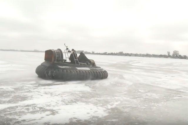 Верхний Услон: Закрывается зимняя навигация судов навоздушной подушке помаршруту Казань