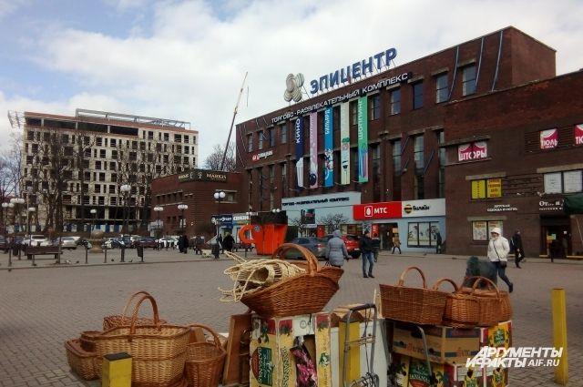 На полтора месяца закрывается участок улицы Баранова в Калининграде.