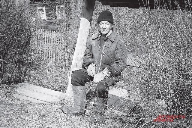 Он и есть самый счастливый человек в России.