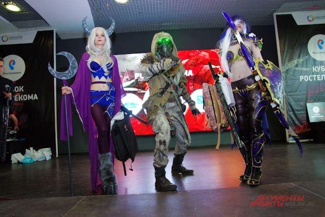 В Новосибирск съехались киберспортсмены и косплейщики