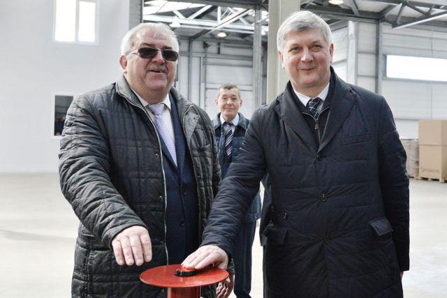 Глава региона принял участие в пуске новой производственной линии.
