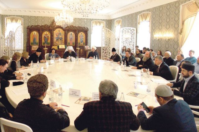 Научно-практическую конференцию посвятили взаимодействию представителей традиционных конфессий.