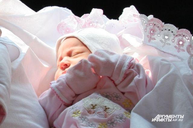 За три месяца в Нижегородской области родилось более 8 тысяч детей.