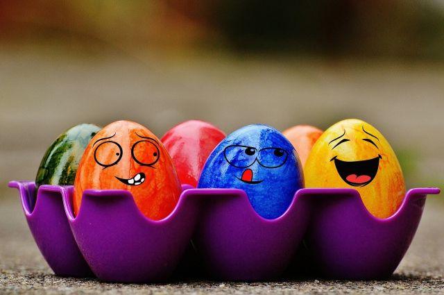Крашеные яйца могут очень-очень разными.