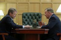 4 апреля в Москве прошла встреча Ггубернатора Алтайского края и Министра сельского хозяйства России Александра Ткачева