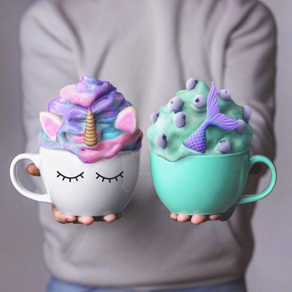 Целая кружка вкуснейших сладостей удивит не только ребенка, но и взрослого. Такую красоту даже жалко есть!