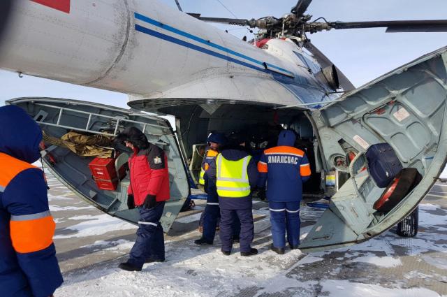 Часто для спасательных операций используется авиация.