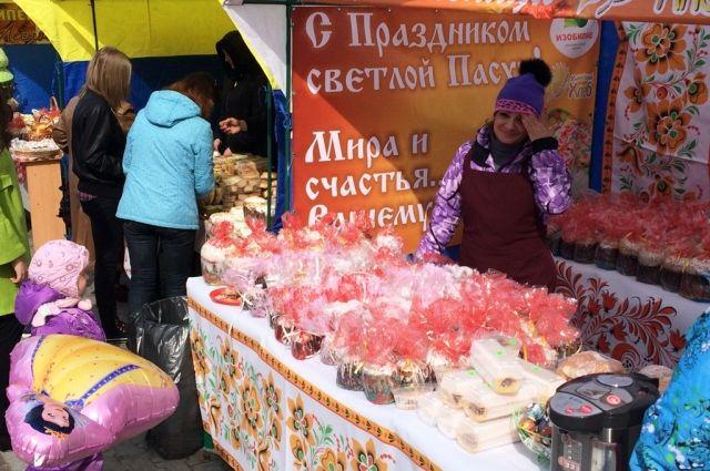 Пасхальная ярмарка в Ханты-Мансийске