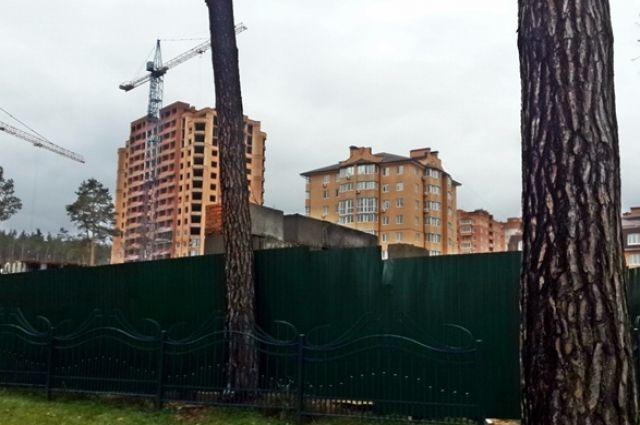 В Украине введут «зеленые линии» для  ограничения застроек в зеленых зонах