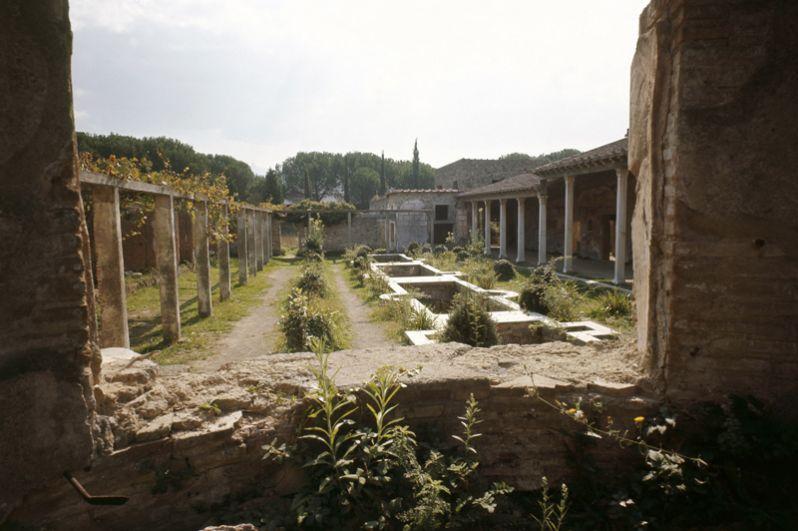 Дом Юлии Феликс. После крупного землетрясения в 62 году хозяйка превратила части своей большой резиденции в квартиры, часть из которых сдавалась внаем.