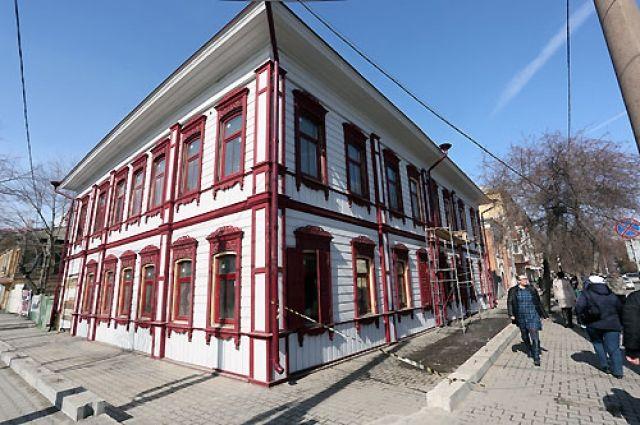 Усадьба, где работал Дубровинский.