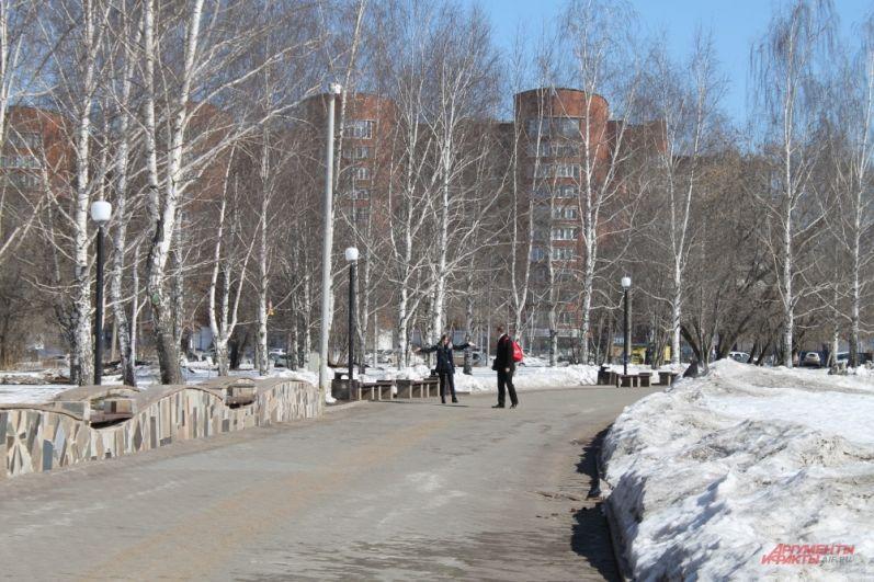 Начало апреля - отличное время для совместных городских прогулок