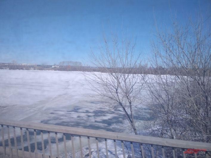 На Каме уже не осталось льда, а на Мулянке и снег, и лёд