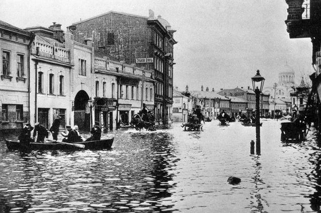 Большое Московское наводнение 1908 г. Как подмочить репутацию власти - Real estate